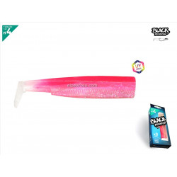 Black Minnow 140 - 3 cuerpos - Rose Fluo
