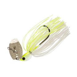 Cajun Chatterbait 1/2oz JC2 (WHITE & CHART)