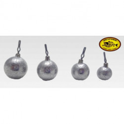 BAITSFISHING PLOMO DROP SHOT WEIGHT BALL 1/4OZ 7GRS 10PK