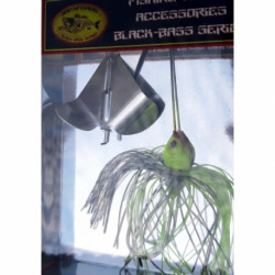 Buzzerbaits Chrome chartreuse shad 1/2 oz