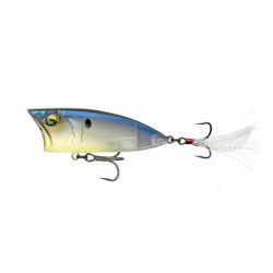 SplashBack Popper - 70 mm 3/8 oz Ghost Bone Minnow