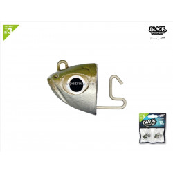 Black Minnow 120 - 2 Shore jig head - 12g - kaki
