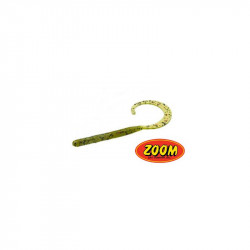 ZOOM CURLY TAIL WORM WATERMELON RED