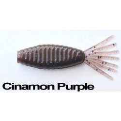 "Longasbaits Tiny Shad 3"" Cinamon Purple"