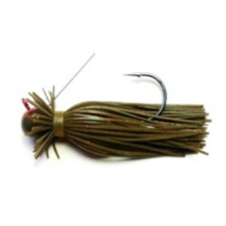 Finesse Wire Jig Green Pumpking Red 3/8 Oz