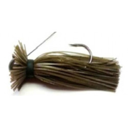 Finesse Wire Jig Green Pumpkin 3/8 Oz
